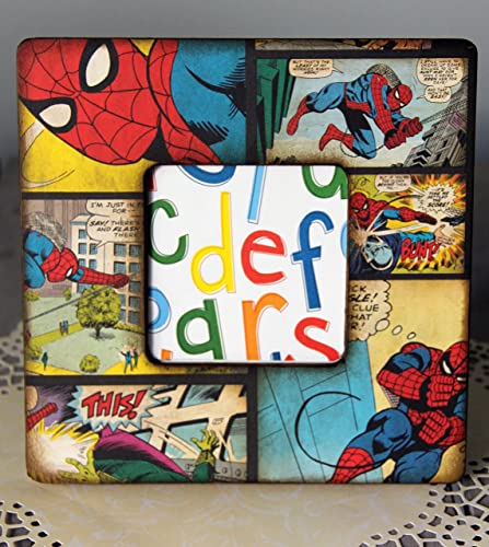 Amazon.com: Spiderman Picture Frame: Handmade