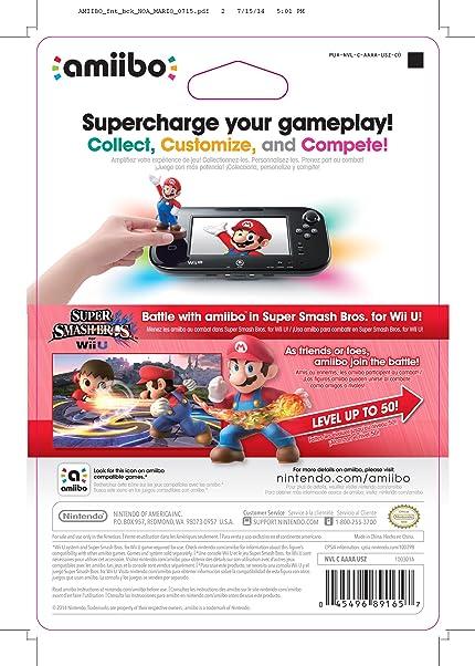 Amazon com: Mario amiibo (Super Smash Bros Series): nintendo wii u