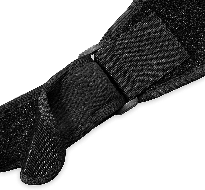 Neoprene Back Straightener with Adjustable Breathable Straps Gaiam Restore Posture Corrector for Women /& Men