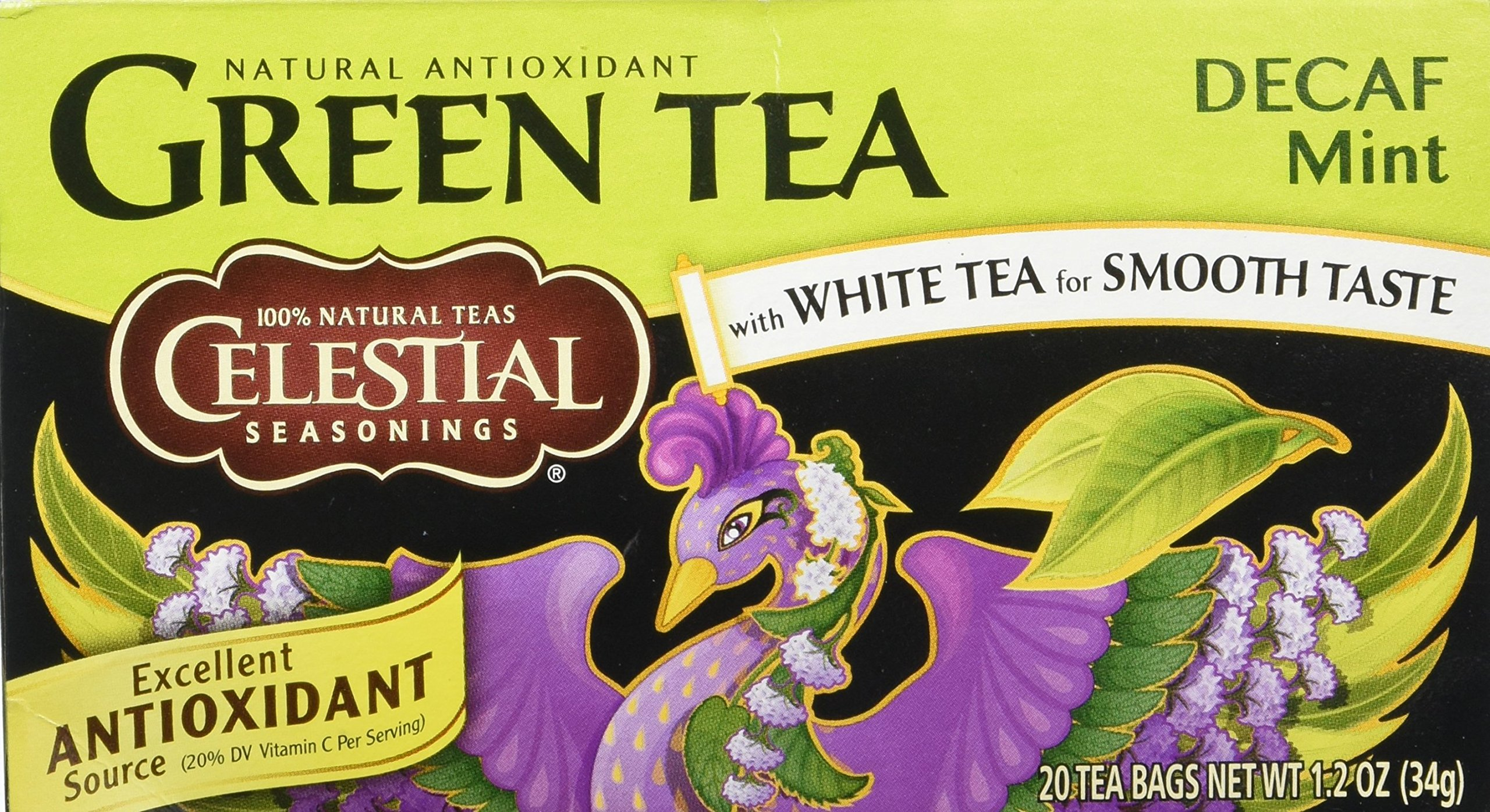 Celestial Seasonings Decaf Mint Green Tea Bags - 20 ct
