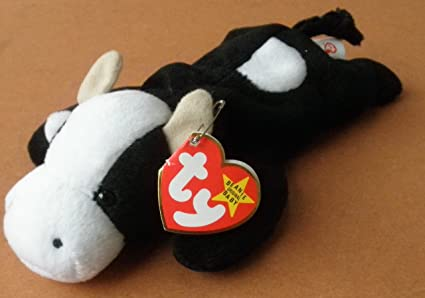 0eda66d6a1b Image Unavailable. Image not available for. Color  TY Beanie Babies Daisy  the Cow Plush Toy Stuffed Animal