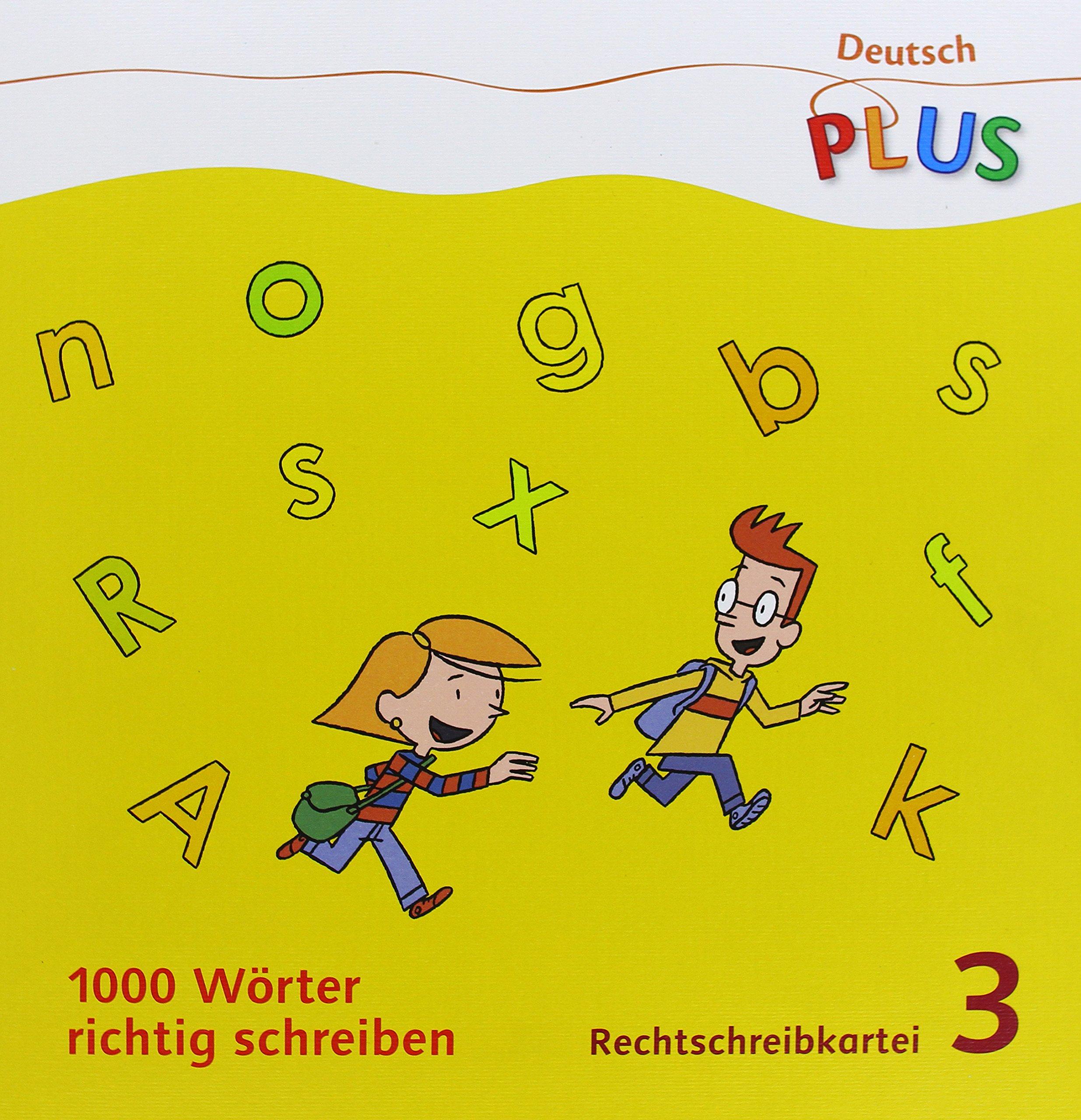 Deutsch Plus Grundschule 1000 Wörter Richtig Schreiben 3