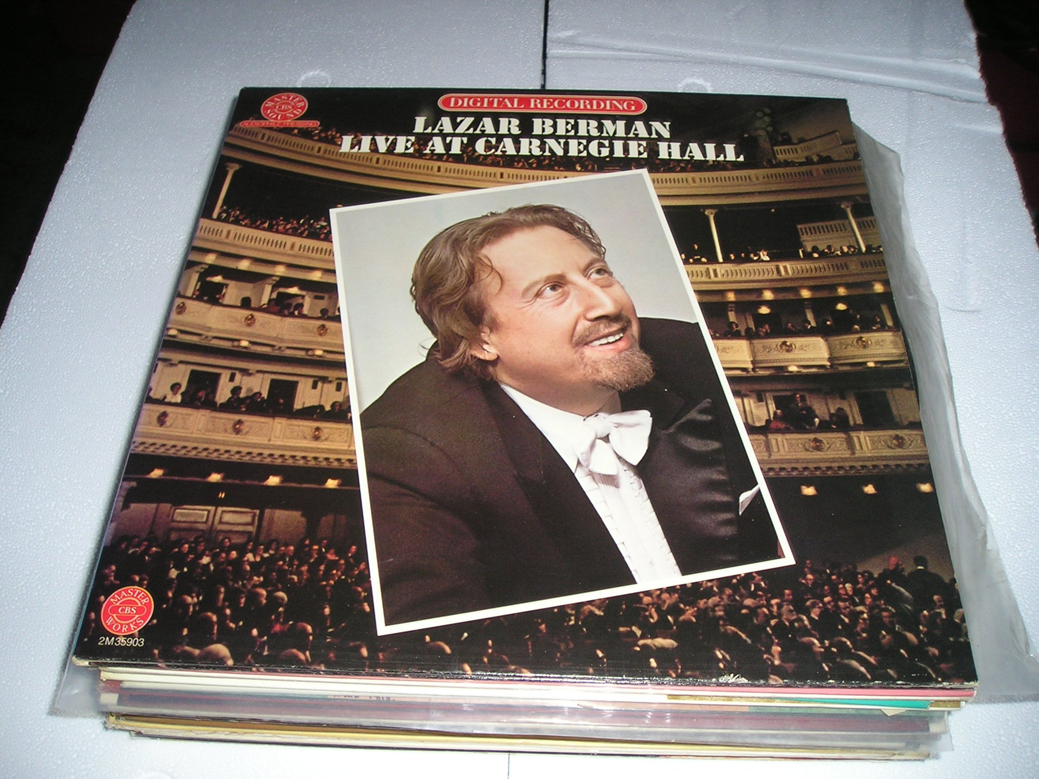 Lazar Berman Live At Carnegie Hall March 11, 1979