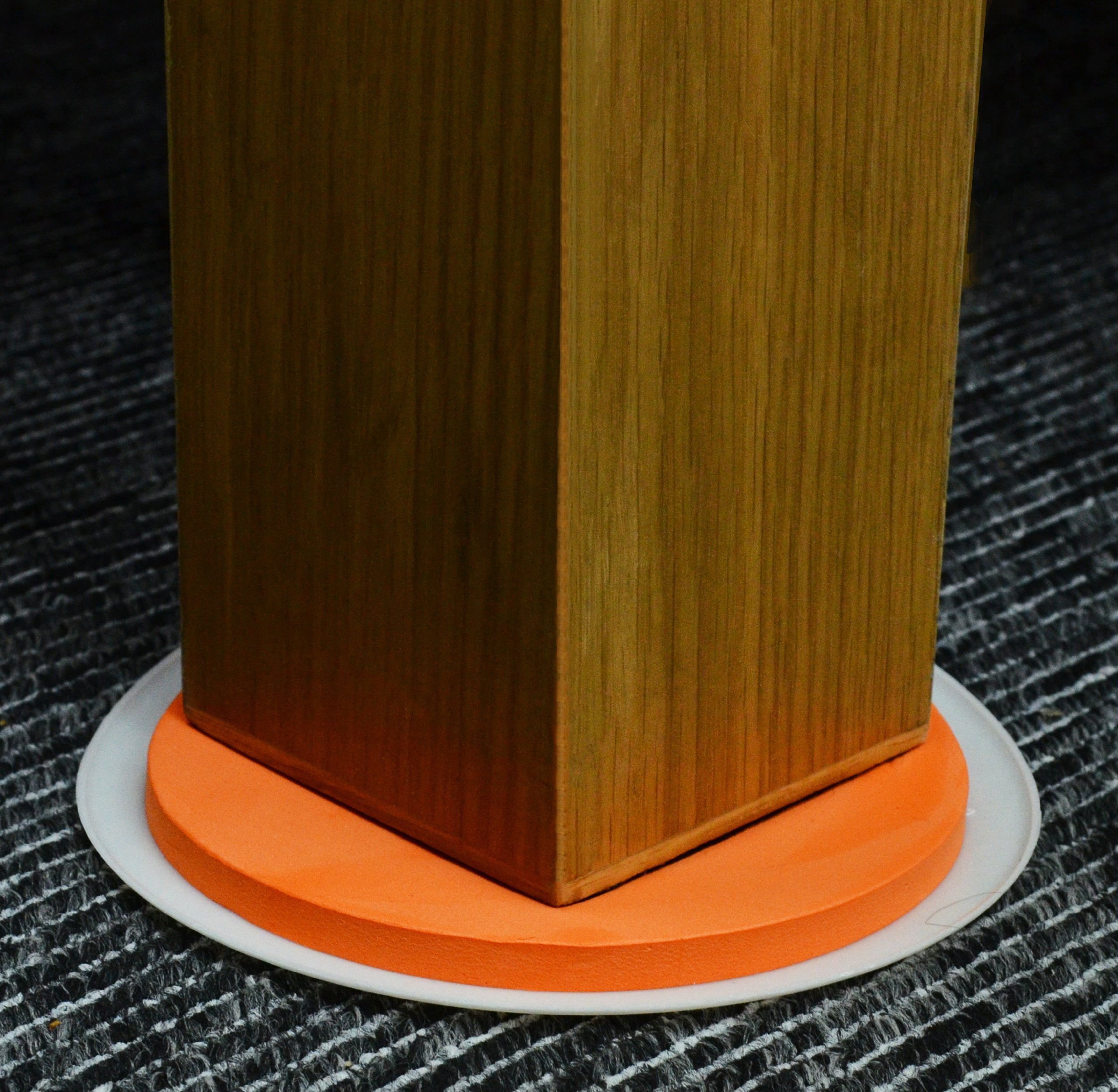 Medipaq Greatideas The Super Furniture Sliders (Genuine Original Orange Discs By Medipaq) - Moving Heavy Furniture Has Never Been Easier! 8 Piece Value Pack.