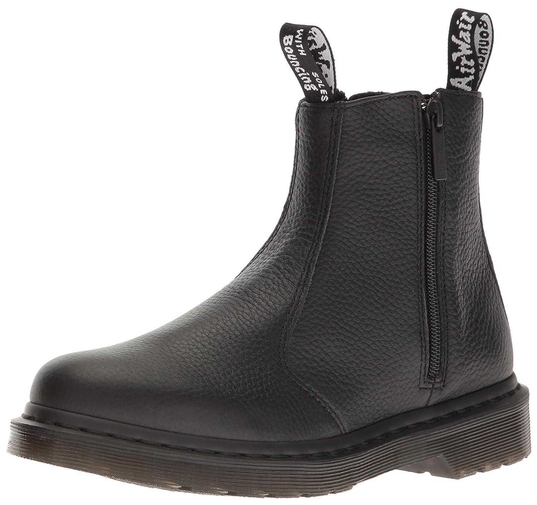 Dr. Martens Women's 2976 Zips Chelsea Boot B01IDSAAK0 7 UK/9 B US|Black