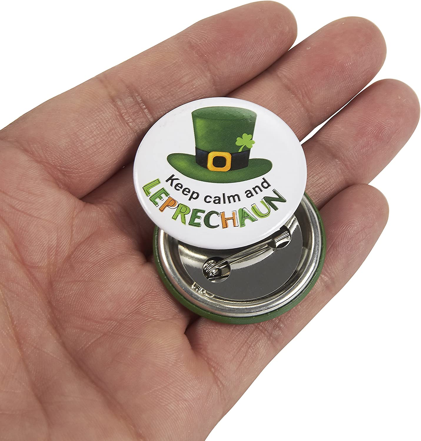 """24 MARDI GRAS Fat Tuesday Party Favors Parade Sayings  Metal BUTTONS Pins 1 1//2/"""""""