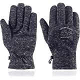 UNDER ZERO UO Winter Warm Anti-Pilling Men's Gloves Soft Lining Running Gloves Cycling Gloves