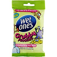WET ONES GRUBBY FINGERS TRAVEL PACK 15CT