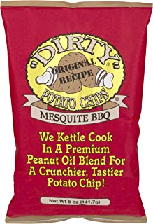product image for Dirty Kettle Chips Bag, Mesquite BBQ, 5 oz., 12 Piece