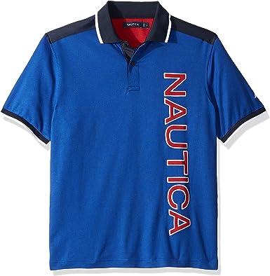 Nautica Hombre K83917 Manga Corta Camisa Polo: Amazon.es: Ropa y ...
