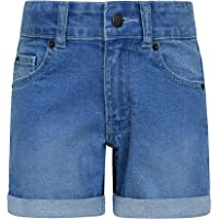 Mountain Warehouse Girls Denim Shorts - Lightweight & Breathable Casual Summer Shorts For Kids. Great for Outdoors…