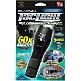 Bell + Howell Taclight 1307 Taclight High-Powered Tactical Flashlight with 5 Modes & Zoom Function (60x Brighter)