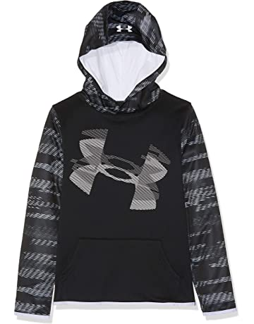 76b58adef3b198 Under Armour Boys  Armour Fleece Sleeve Hoodie