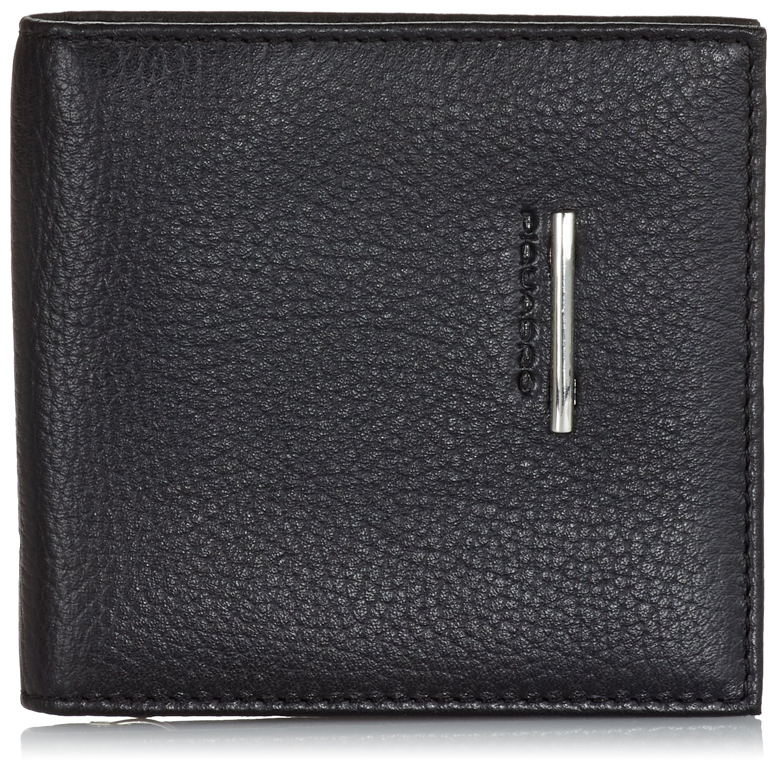 Piquadro Men's Wallet With Document, Credit Card and Banknote Facility Black