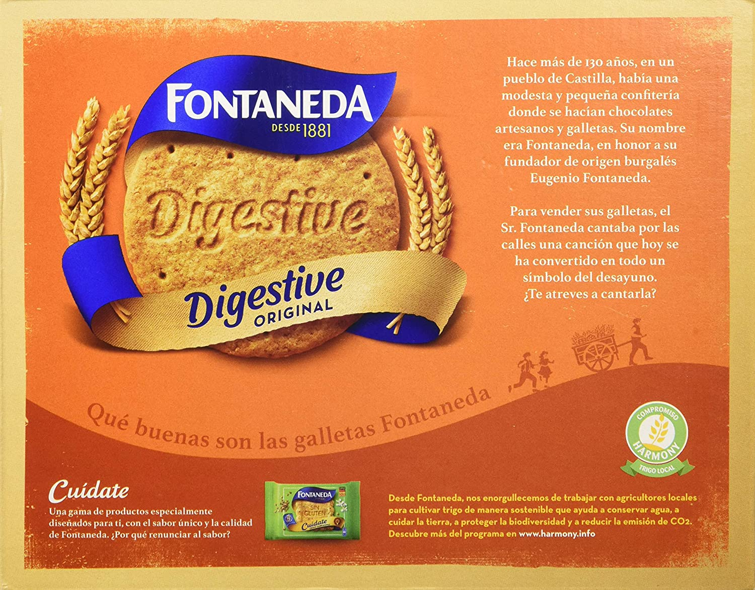 Fontaneda Digestive Galleta -700 gr: Amazon.es: Amazon Pantry