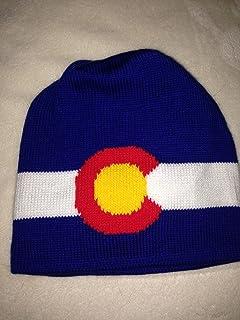 ab3f76794f3 Amazon.com  Colorado (CO) State Flag Warm Winter Hat Knit Beanie ...