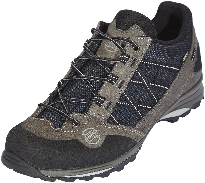 Asphalt-noir (201200-064012) 42.5 EU Hanwag chaussures Belorado II Faible GTX