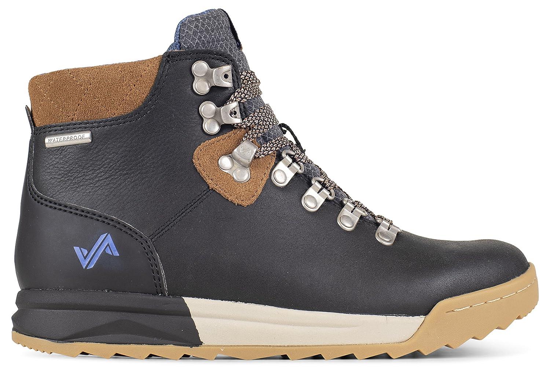 Forsake Patch - Women's Waterproof Premium Leather Hiking Boot B01KW4G8C2 6.5 M US|Black/Tan