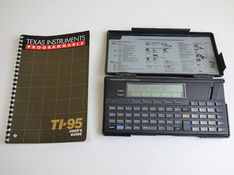Texas Instruments TI-95 Procalc Calculator Office Electronics ...