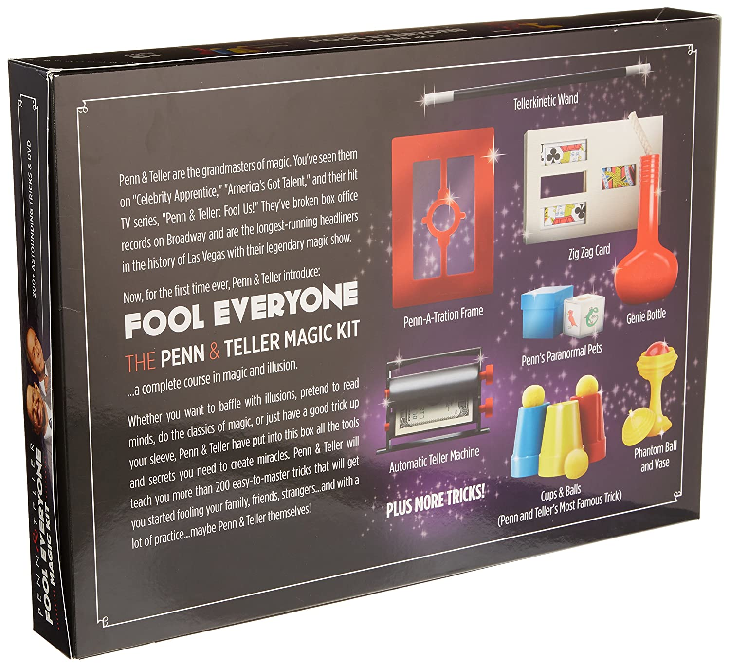 Amazon: The Penn & Teller Fool Everyone Magic Kit  Over 200 Ways To  Trick Your Friends: Toys & Games