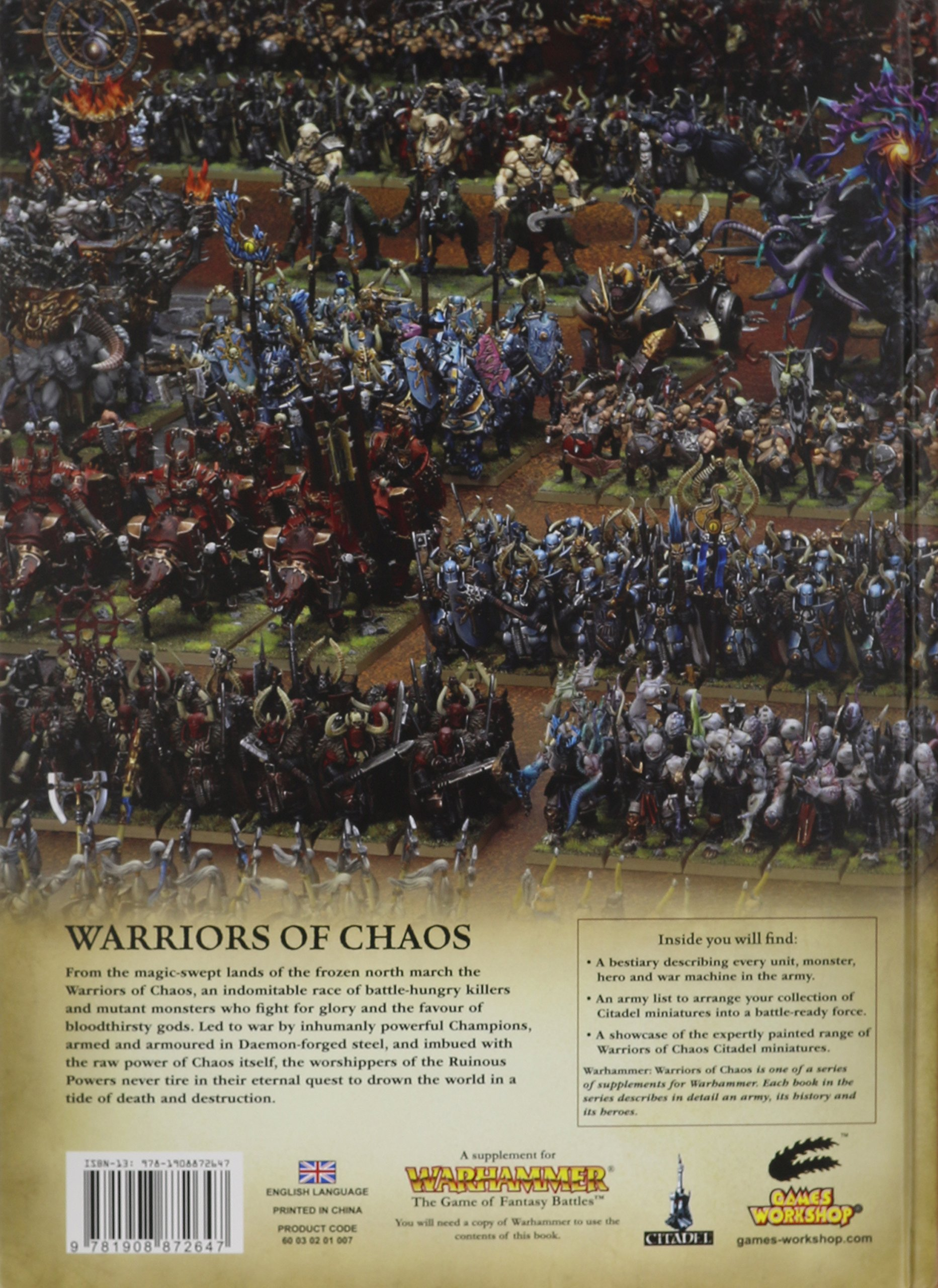Warriors Of Chaos Games Workshop 9781908872647 Amazon Com Books
