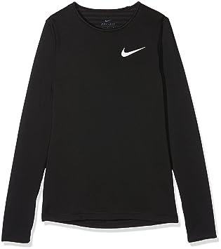 3557e00f93182 Nike niña Pro Warm Manga Larga