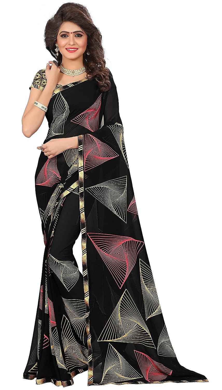 Kalaa Varsha Women's Faux Georgette Saree