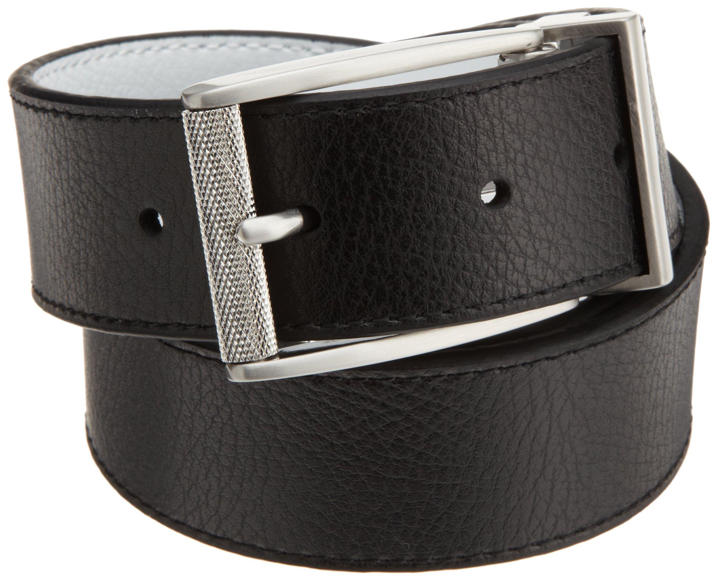 NIKE Golf Classic Reversible Belt (Black/White, 32)