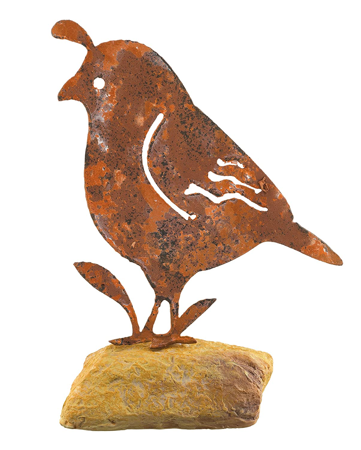 Regal Art & Gift Quail Rock Decor