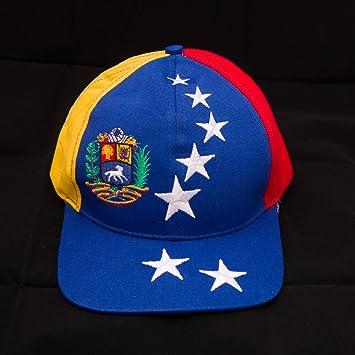 Rakmark Gorra de Venezuela tricolor 7 estrellas escudo original antiguo  alta calidad 496cca8d259