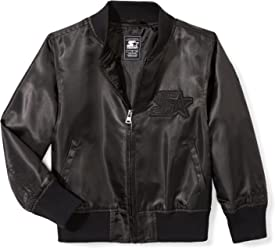 Starter Girls' Lightweight Bomber Jacket, Amazon Exclusive