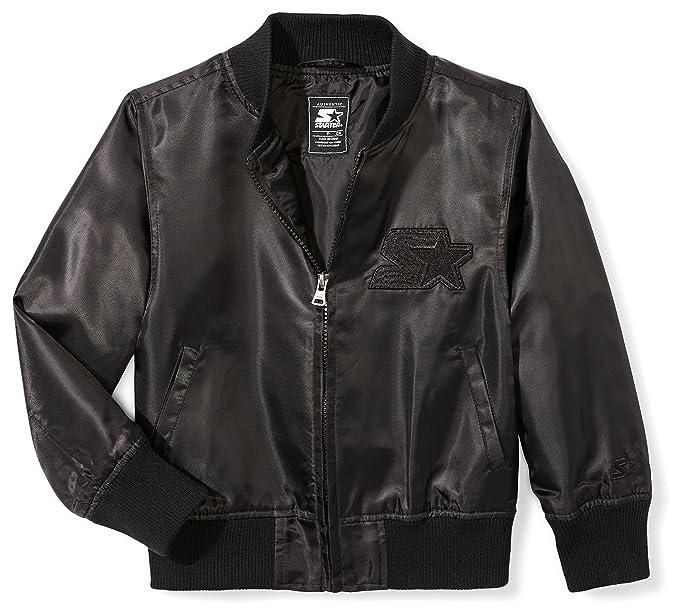 9050706c7 Starter Girls' Lightweight Bomber Jacket, Amazon Exclusive