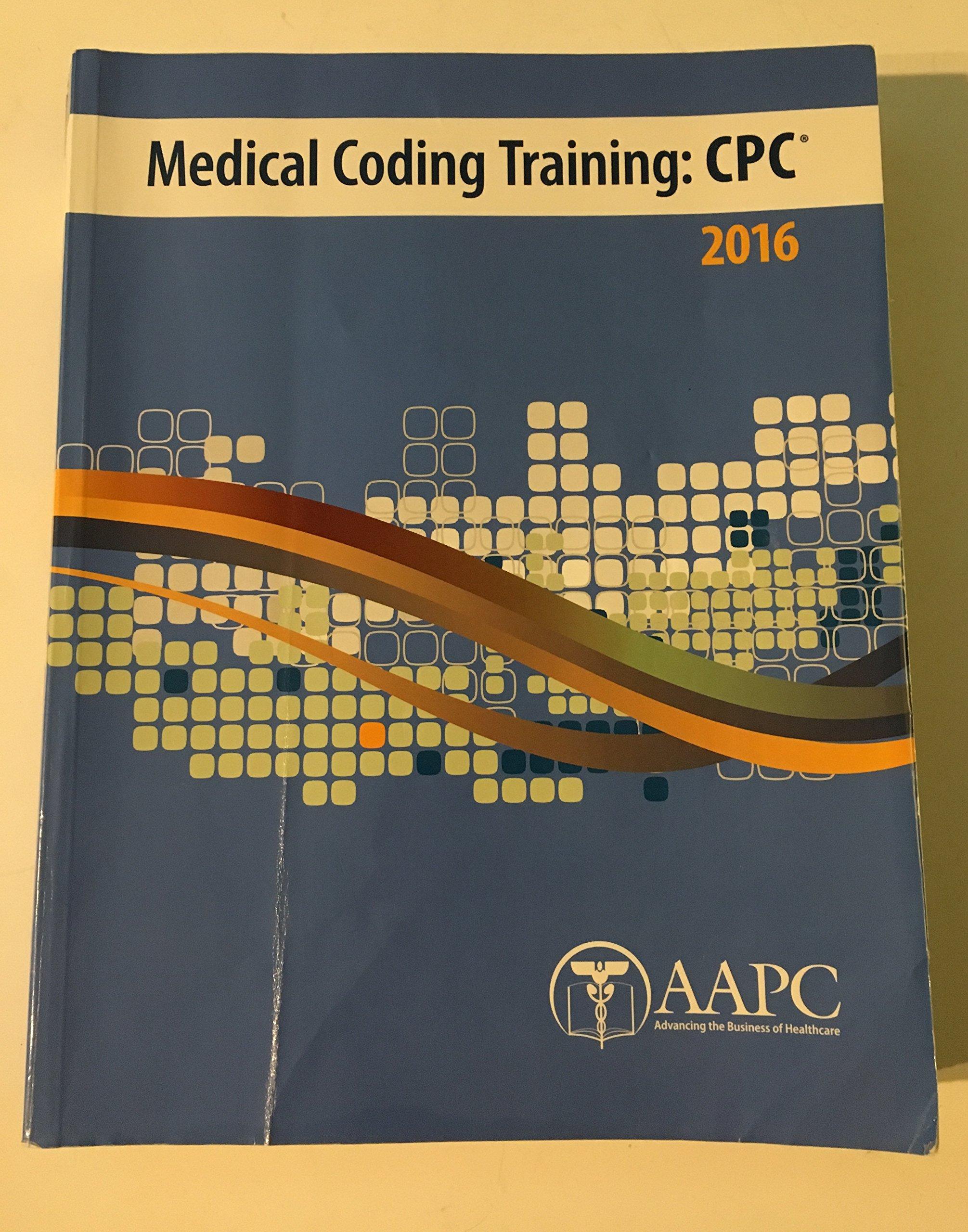 Medical Coding Training Cpc 2016 Aapc 9781626882065 Amazon