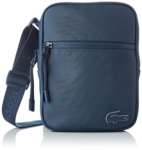 Lacoste - Nh2715po, Shoppers y bolsos de hombro Hombre, Azul (Blue Wing Teal