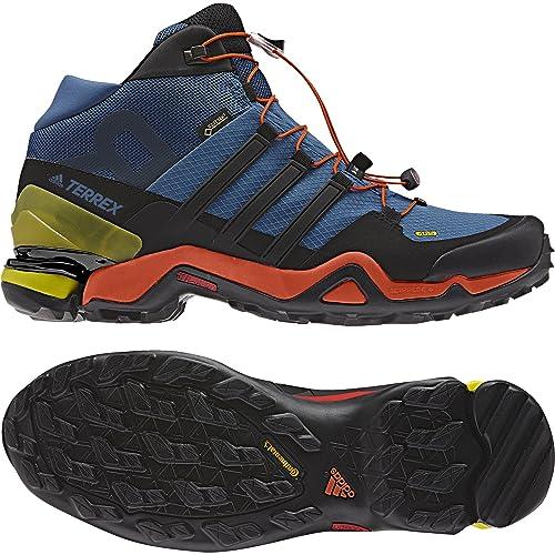 7d1360976 adidas Men's Terrex Fast R Mid GTX Low Rise Hiking Boots, Blue  Azubas/Negbas/Energi, 7.5 UK 7.5 UK: Amazon.co.uk: Shoes & Bags