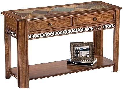 Superb Magnussen Madison Wood Sofa Table Ncnpc Chair Design For Home Ncnpcorg
