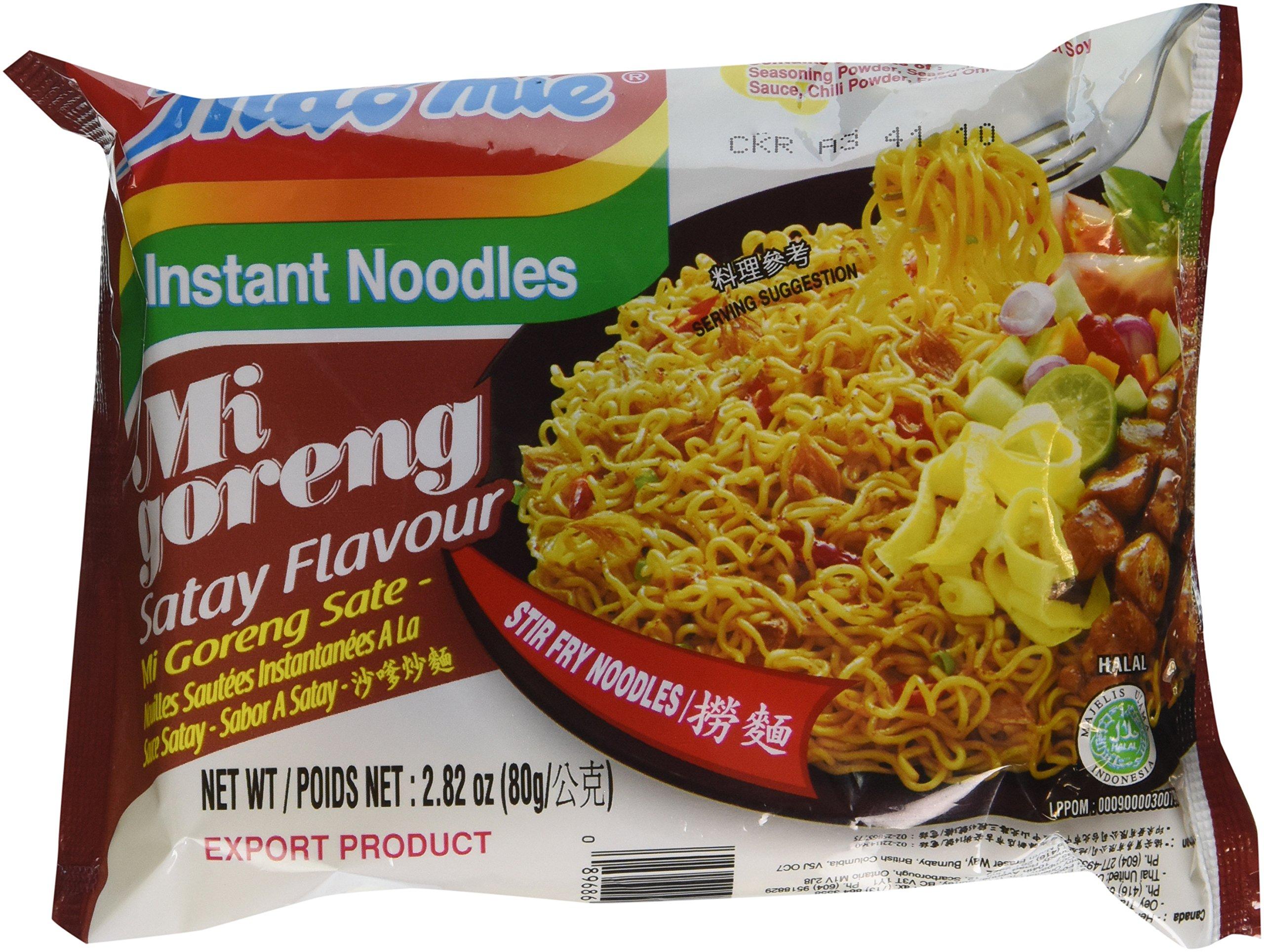 51a9fdbfb9b Indomie CUP NOODLES Fried Noodles 100 %HALAL Mi Goreng 75g  (2.6oz ...