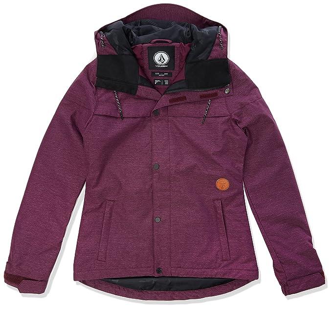 Volcom Mujer Perno ins Jacket Chaqueta Técnica – Aislante, Mujer, Color