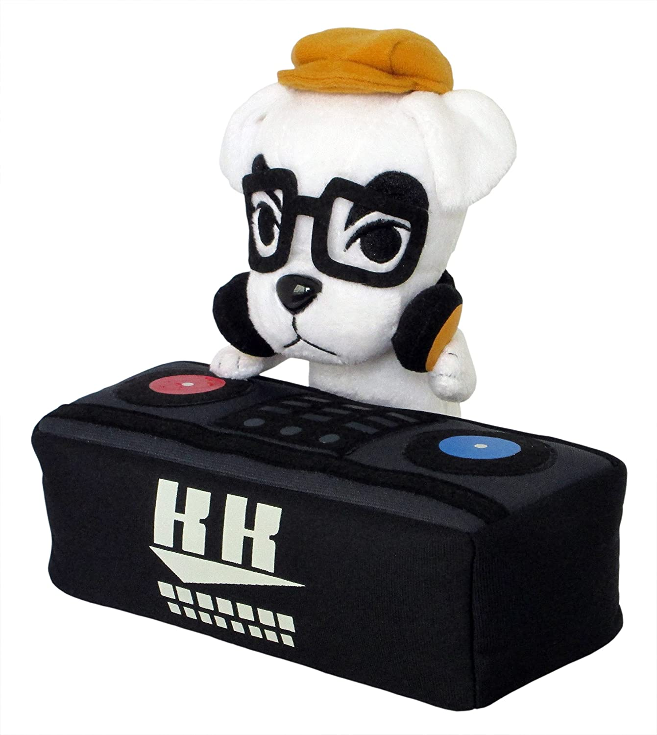 "Little Buddy USA Animal Crossing New Leaf DJ K.K. Slider 8"" Plush"