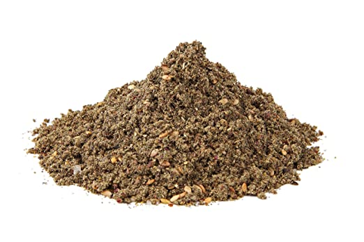 The Spice Way - Traditional Lebanese Zaatar with Hyssop (No Thyme that is used as an hyssop substitute) Freshly Grown Seasoning. No Additives, No Perservatives, (Za'atar/zatar/zahtar/zahatar) 2oz