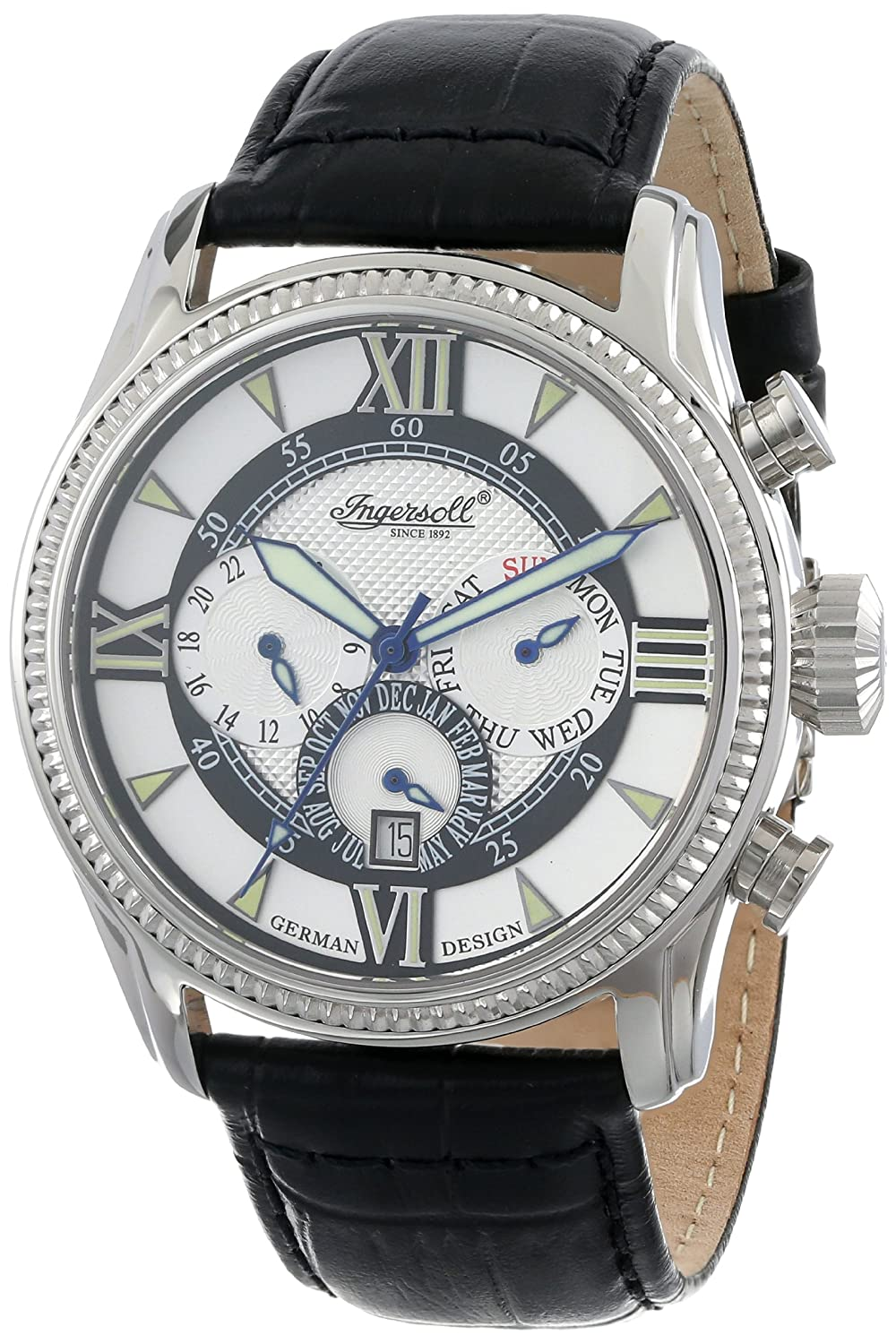 Ingersoll Fine Automatic Herrnuhr  Bel Air  IN 3213 BK