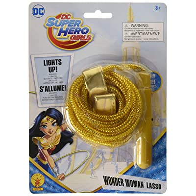 Rubie's DC Super Hero Girls Wonder Woman Lasso: Toys & Games