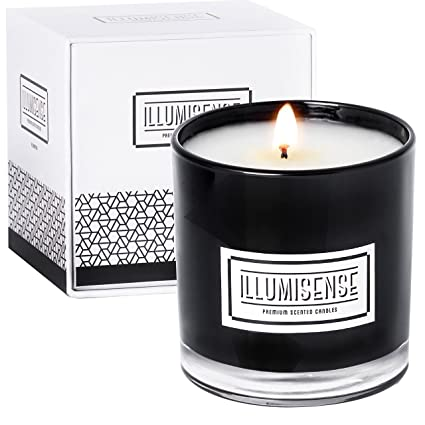 amazon com illumisense premium scented candles all natural soy rh amazon com