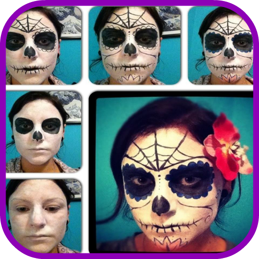 (Halloween Makeup Step by Step)