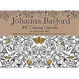 Johanna Basford 2017 Coloring Day-to-Day Calendar