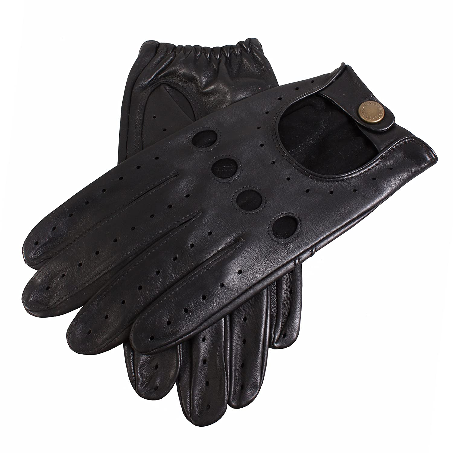 Leather driving gloves dents - Black Delta Leather Driving Gloves By Dents 7 8 Dents At Amazon Men S Clothing Store Powersports Gloves