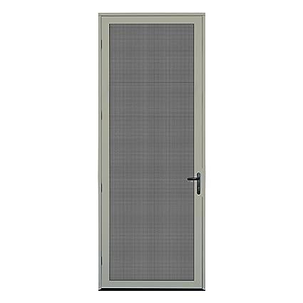 Titan 36x96 Meshtec Ultimate Security Screen Door   Aluminum