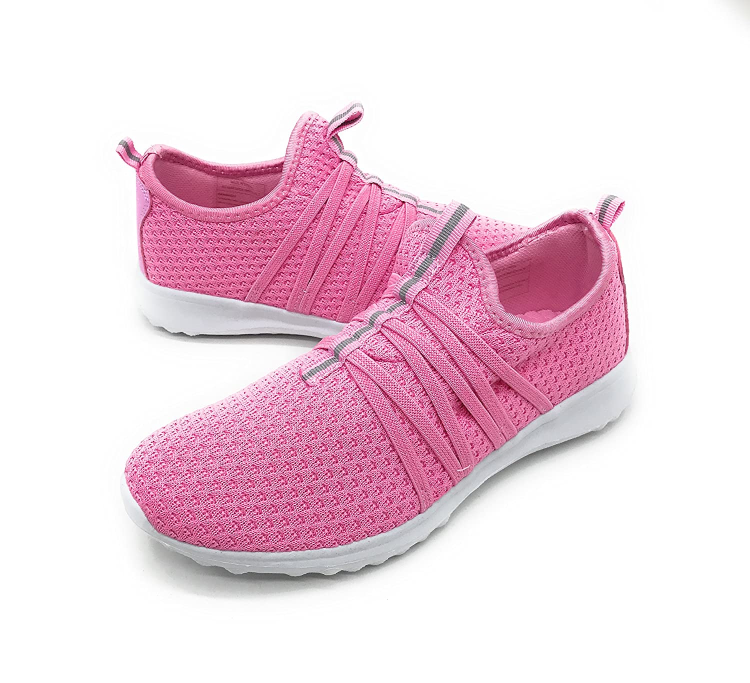 Blue Berry EASY21 Women Casual Fashion Sneakers Breathable Athletic Sports Light Weight Shoes B079VY6WJ5 5 B(M) US|Pink01