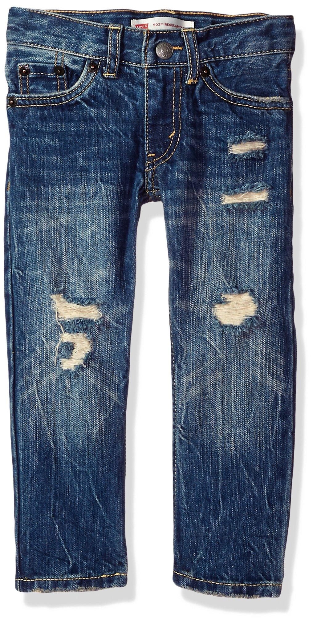 Levi's Big Boy's 502 Regular Taper Jeans Pants, Valencia, 10