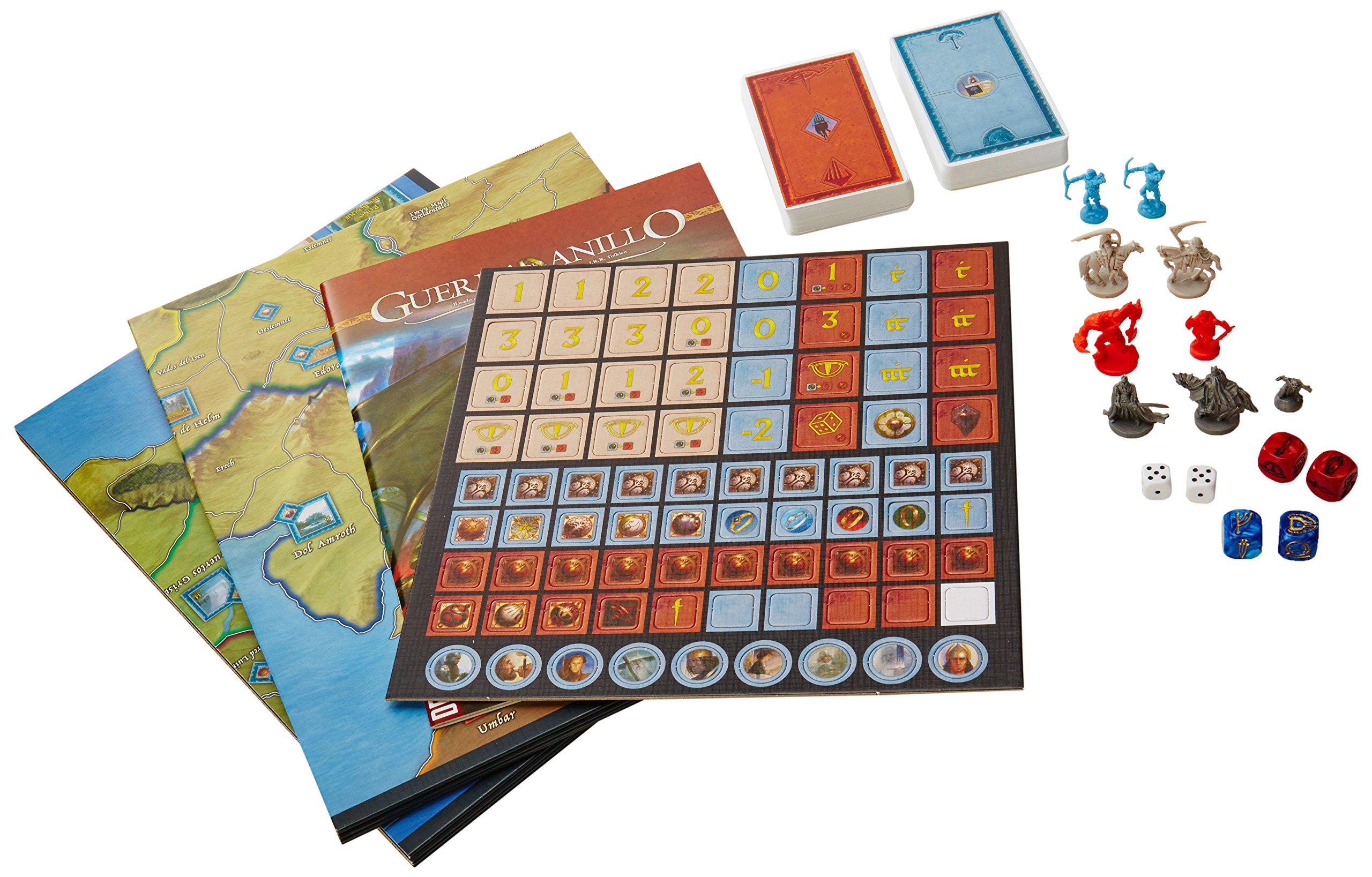 Comprar Devir - Guerra del Anillo, batallas épicas en la tierra media, juego de mesa (BGUERRA)